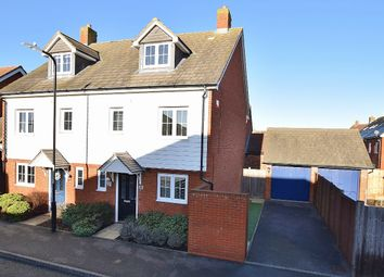Thumbnail 3 bed semi-detached house to rent in Bramble Walk, Kingsnorth