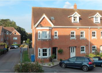Thumbnail 4 bed end terrace house for sale in Campbell Fields, Aldershot