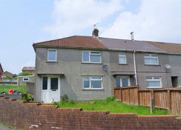 Thumbnail 3 bed end terrace house for sale in Heol Pentre, Maesteg, Mid Glamorgan