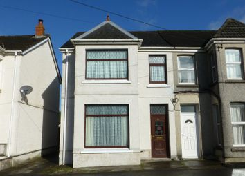 Thumbnail 3 bed semi-detached house for sale in Walter Road, Ammanford, Carmarthenshire.