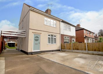 Thumbnail 3 bed semi-detached house for sale in Louwil Avenue, Mansfield Woodhouse, Mansfield