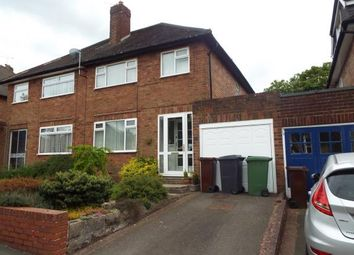 Thumbnail 3 bed semi-detached house for sale in Brenton Road, Penn, Wolverhampton, West Midlands
