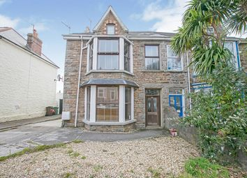 Thumbnail 5 bed semi-detached house for sale in Mount Pleasant Road, Camborne, Cornwall