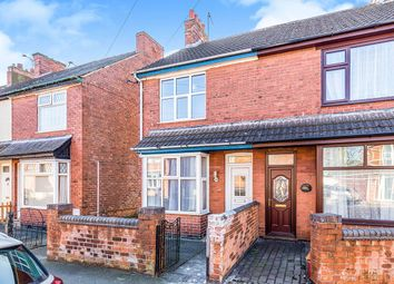 Thumbnail 2 bed terraced house to rent in Crescent Road, Hugglescote, Coalville