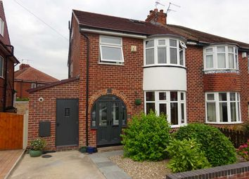 Thumbnail 4 bed semi-detached house for sale in Rawcliffe Drive, Rawcliffe, York