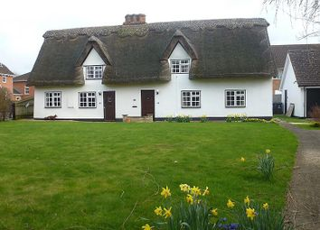 Thumbnail 3 bedroom semi-detached house to rent in High Street, Foxton, Cambridge