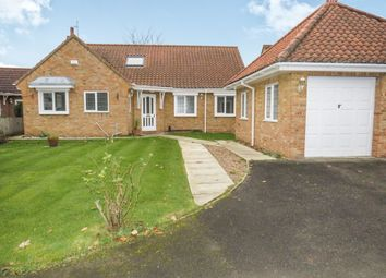 Thumbnail 5 bedroom detached bungalow for sale in Glenham Drive, Willerby, Hull