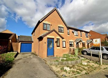 Thumbnail 3 bedroom semi-detached house to rent in Cruickshank Grove, Crownhill, Milton Keynes