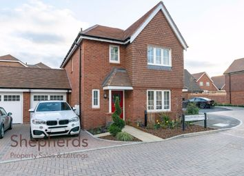 Thumbnail 3 bed detached house for sale in Willow Brook Lane, West Cheshunt, Hertfordshire