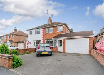 Thumbnail 3 bed semi-detached house for sale in Hurdis Road, Solihull, West Midlands