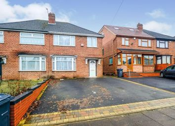 3 bed semi-detached house for sale in Inglefield Road, Stechford, Birmingham, West Midlands B33