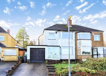 Thumbnail 3 bed semi-detached house for sale in Glastonbury Terrace, Llanrumney, Cardiff