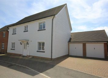 Thumbnail 4 bed detached house to rent in Aurelie Way, Whitstable