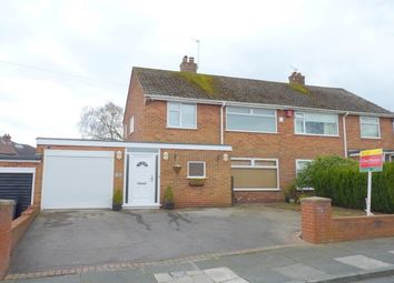 Thumbnail 3 bed semi-detached house to rent in Mount Drive, Bebington, Wirral