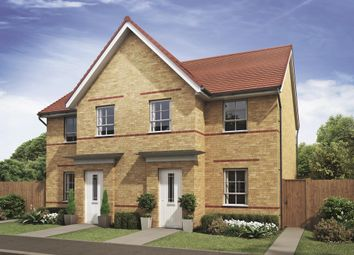 "Thumbnail 3 bed semi-detached house for sale in ""Palmerston"" at Llantarnam Road, Llantarnam, Cwmbran"