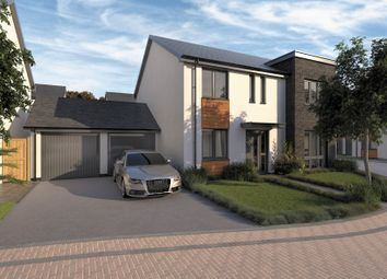 Thumbnail 4 bed detached house for sale in Fort Gardens, Crownhill, Plymouth