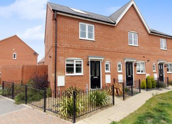 Thumbnail 2 bedroom end terrace house for sale in Daffodil Close, Cringleford, Norwich
