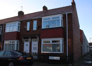 Thumbnail 2 bed terraced house for sale in Roseberry Road, Hartlepool