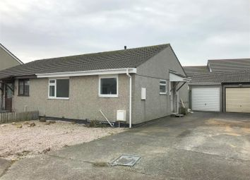 Thumbnail 2 bed semi-detached bungalow to rent in Gorse Close, Newquay