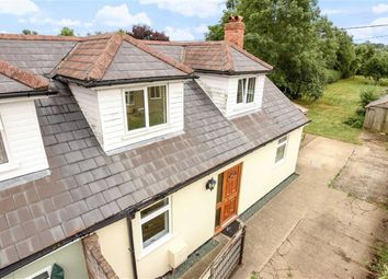 Thumbnail 3 bed semi-detached house for sale in The Marsh, Wanborough, Swindon