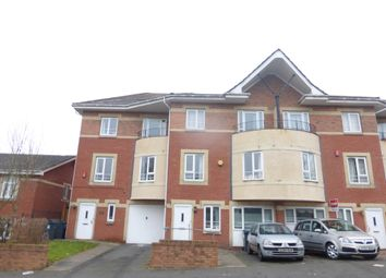 Thumbnail 4 bedroom town house for sale in Central Park Drive, Hockley, Birmingham