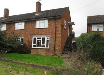 Thumbnail 2 bed maisonette for sale in Fontwell Close, Northolt, Middlesex