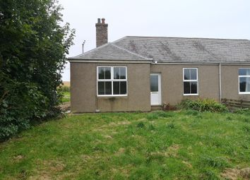 Thumbnail 2 bed semi-detached bungalow for sale in Enzie, Buckie