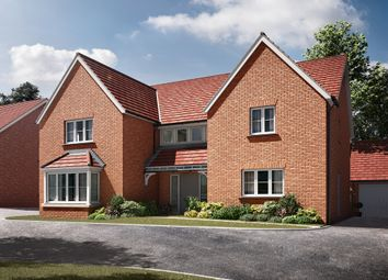 "Thumbnail 5 bed detached house for sale in ""The Becket"" at Radwinter Road, Saffron Walden, Essex, Saffron Walden"