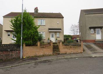 Thumbnail 2 bed semi-detached house for sale in Crofthead Avenue, Kilmarnock