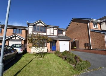 Thumbnail 4 bed detached house to rent in Hatherton Close, Waterhayes, Newcastle