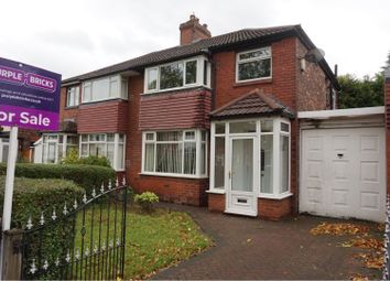 Thumbnail 3 bedroom semi-detached house for sale in Kenilworth Avenue, Whitefield, Manchester
