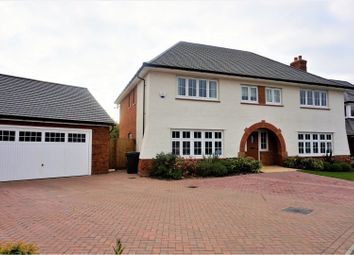 Thumbnail 5 bed detached house for sale in Quarry Road, Ryarsh