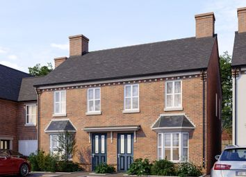 Thumbnail 3 bed semi-detached house for sale in Alver Court, Station Road, Madeley, Telford