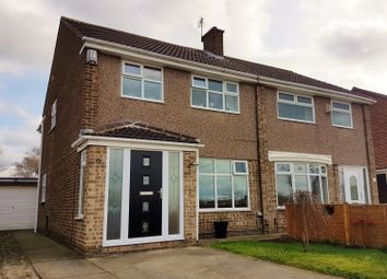 Thumbnail 3 bed semi-detached house for sale in Swainston Close, Acklam, Middlesbrough