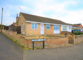 Thumbnail 3 bed semi-detached bungalow for sale in Spinney Close, Thrapston, Kettering