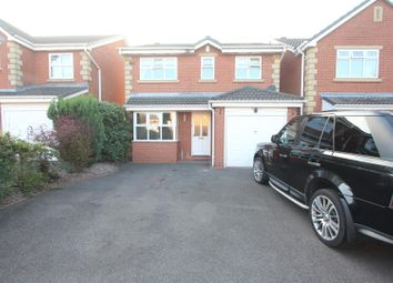Thumbnail 3 bed detached house for sale in Robertson Close, Stoney Stanton, Leicester