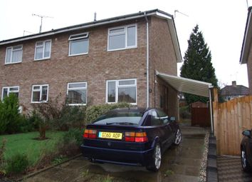 Thumbnail 3 bedroom property to rent in Edgecote Close, Rugby