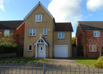 Thumbnail 4 bed detached house for sale in Beech Court, Widdrington, Morpeth