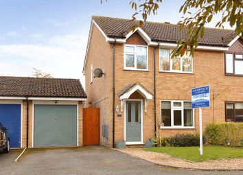 Thumbnail 3 bed semi-detached house for sale in Heatherdale, Leegomery, Telford