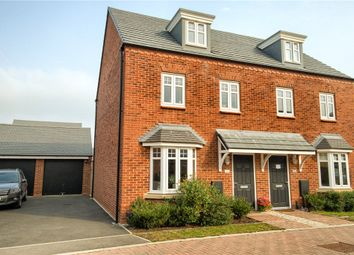 Thumbnail 3 bed semi-detached house for sale in Rainbow Crescent, Harbury, Leamington Spa