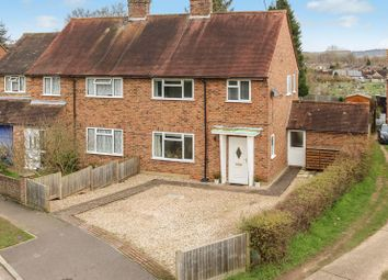 Thumbnail 3 bed semi-detached house for sale in Binscombe Crescent, Godalming