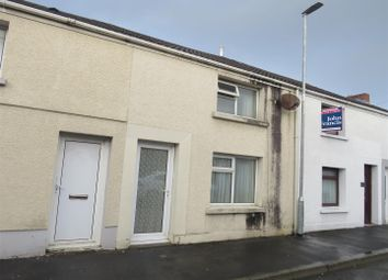 Thumbnail 2 bed terraced house for sale in Long Row, Llanelli