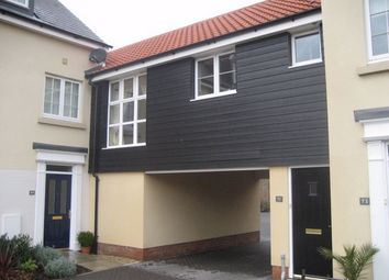 Thumbnail 1 bed terraced house for sale in Bolsin Drive, Northern Approach, Colchester, Essex