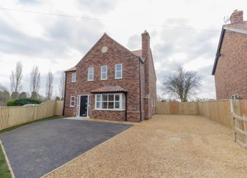 Thumbnail 4 bed detached house for sale in Mill Road, Terrington St. John, Wisbech