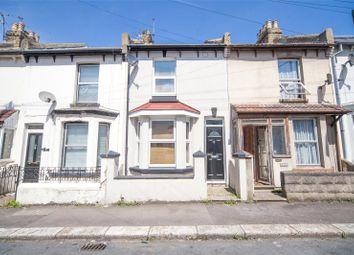 Thumbnail 3 bed terraced house for sale in Gordon Road, Gillingham, Kent