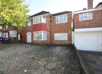 Thumbnail 4 bed detached house for sale in Harrowes Meade, Edgware, Greater London.