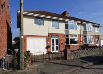 Thumbnail 4 bed semi-detached house for sale in Greenwood Road, Worle, Weston-Super-Mare