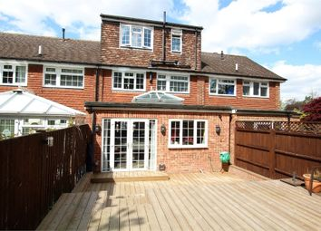 Thumbnail 4 bedroom terraced house for sale in Newlands Crescent, East Grinstead, West Sussex