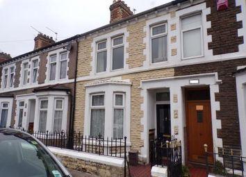 Thumbnail 2 bed terraced house for sale in Railway Street, Cardiff, Caerdydd