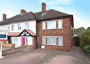 Thumbnail 3 bed end terrace house for sale in Stafford Road, Ruislip, Middlesex